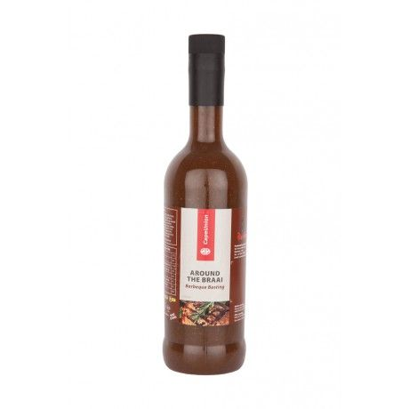 This basting sauce, produced by the popular Bushman's Chilli Co, is flavourful and ideal for all kinds of braais, be it meat, chicken or fish!  www.capeunionmart.co.za