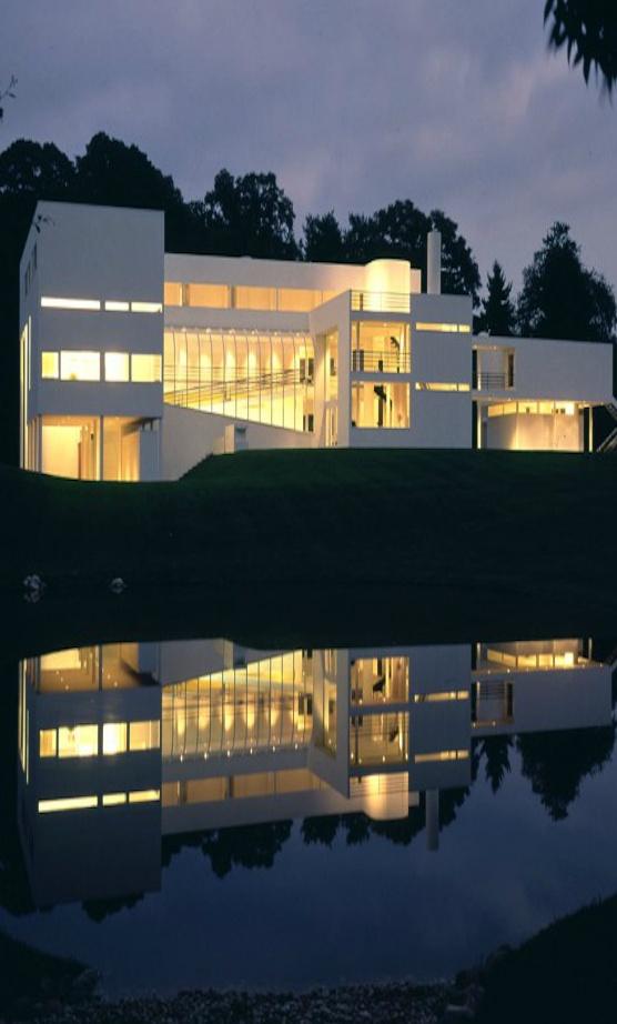 Richard Meier & Partners Architects -- House in Old Westbury  Old Westbury, New York  1969 - 1971