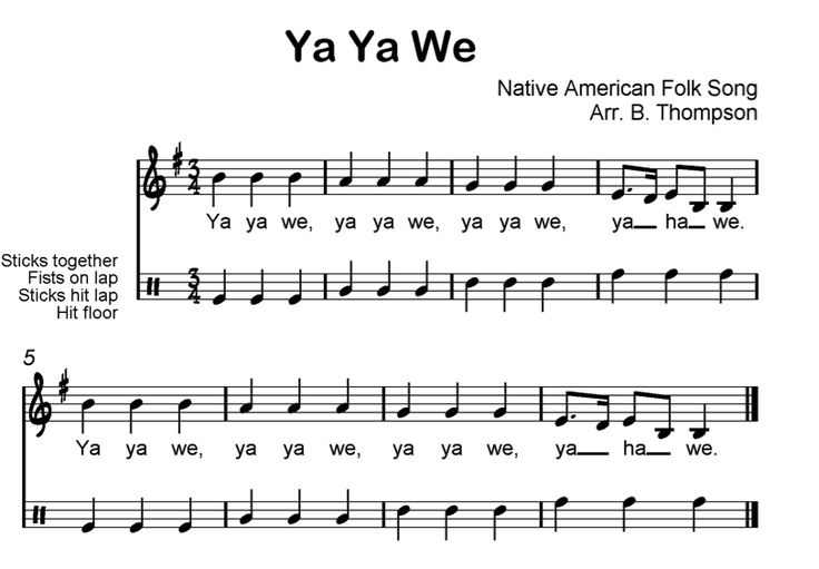 Beth's Music Notes: Meter in 3  Native American song for 3rd grade