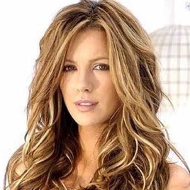 Kate Beckensale as a blonde..possibly my next move into the blonde.