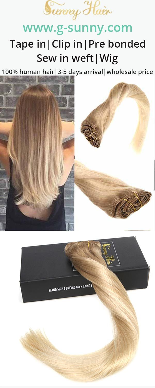 Sunny Hair 100 Remy Human Hair Extensions Clip In Human Hair