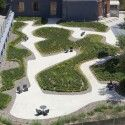 Arquitectura y Paisaje: Jardín para Residencia de ancianos La Paz por Caballero + Colón de Carvajal © Miguel de Guzmán
