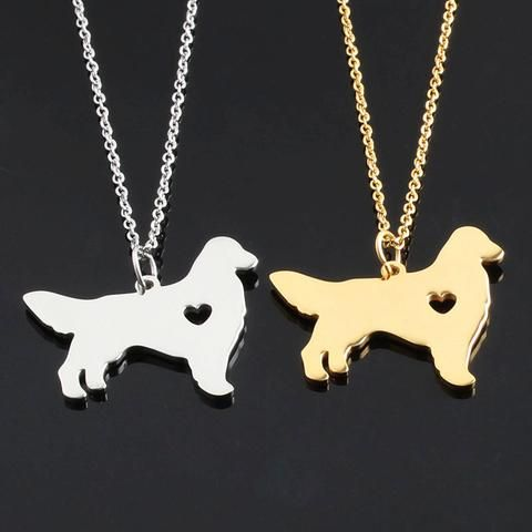 Golden Retriever Necklace - DingJewels