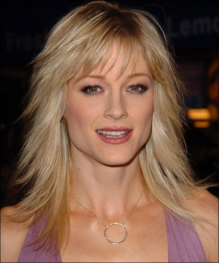 Mid Length Haircuts with Bangs for Fine Hair