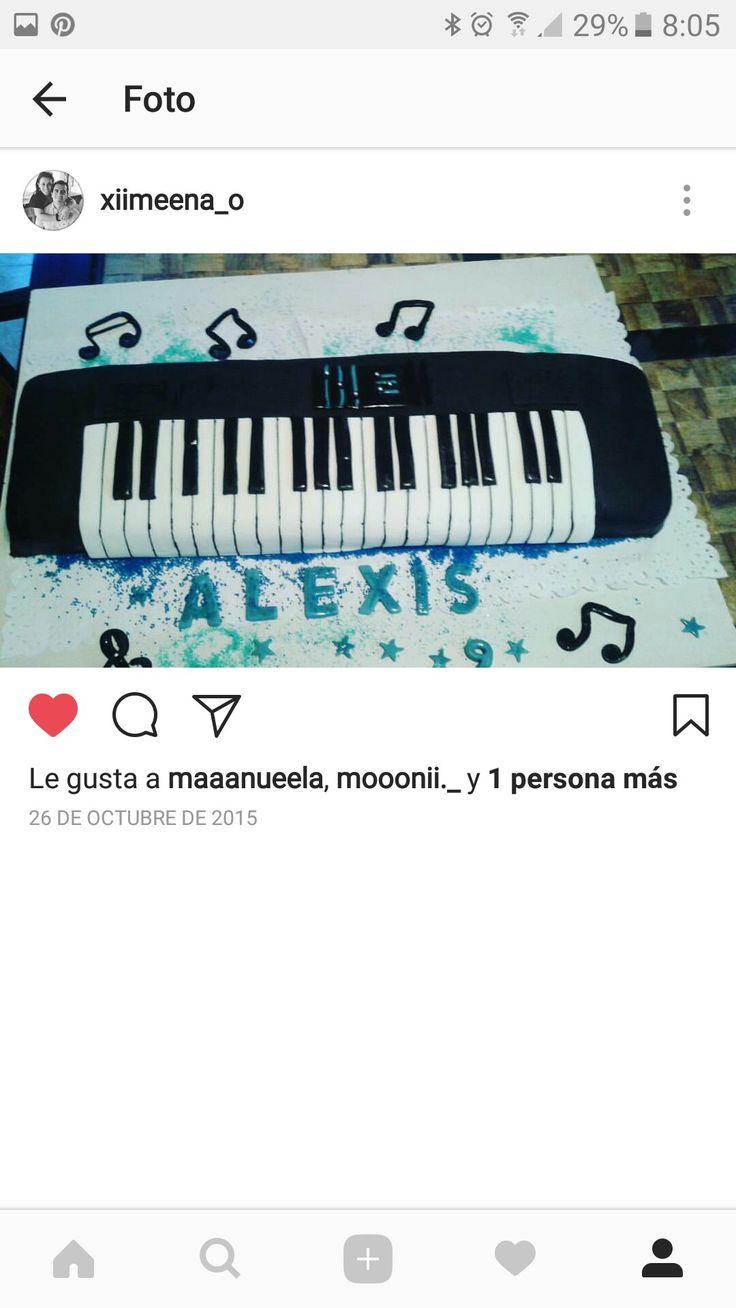 Tarta piano