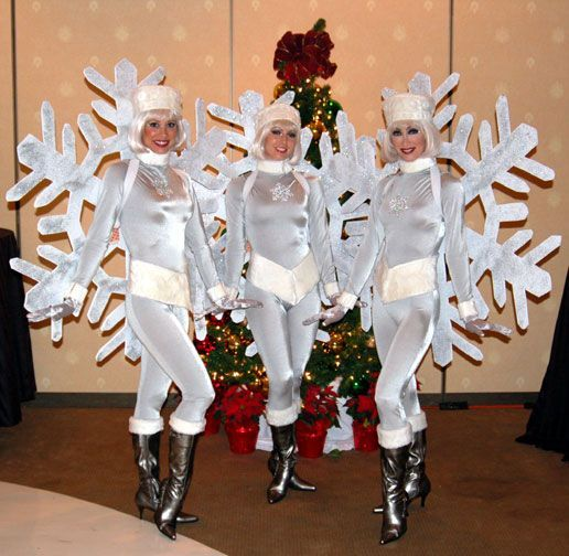 Snowflake Costume Ideas Google Search Props And Costumes Pinterest Christmas Costumes Snowflakes And Christmas