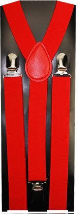 wholesale solid-red-suspenders-(case-of-72) (Case of 72)