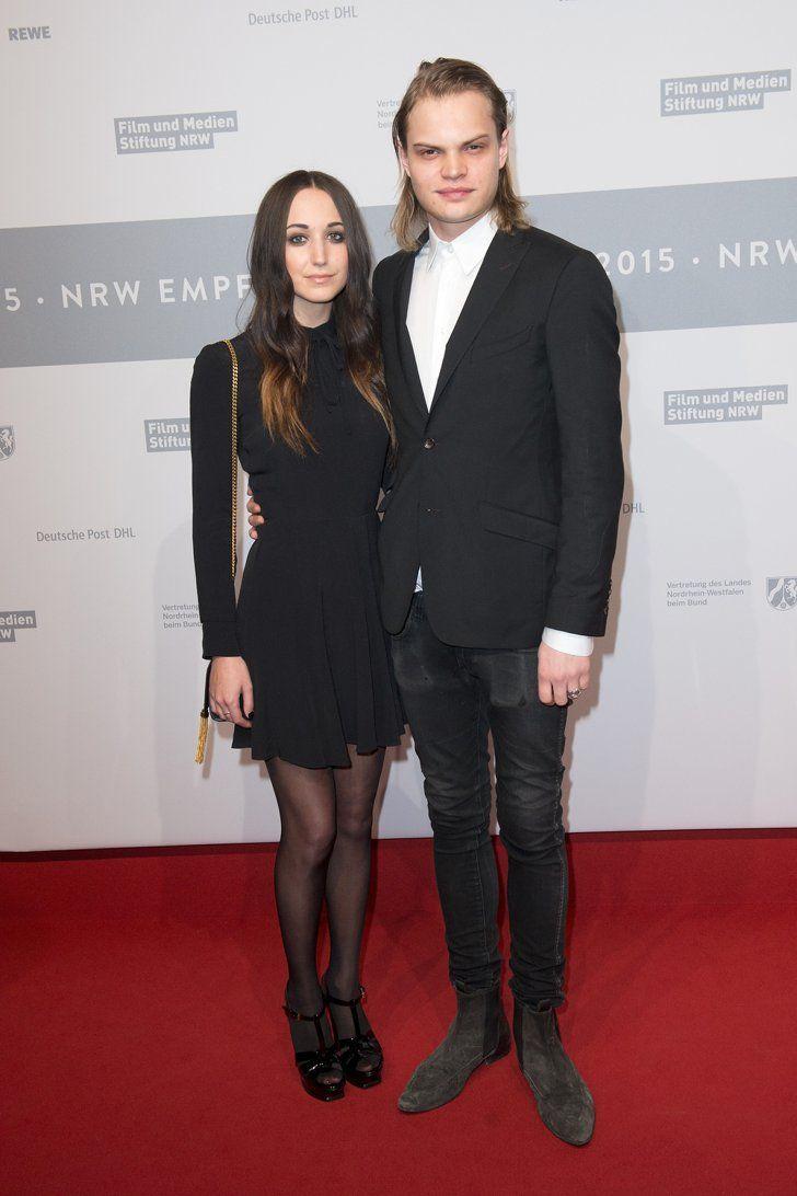 Pin for Later: Das war die 65. Berlinale - seht hier die besten Bilder! Tag 4 Wilson Gonzalez Ochsenknecht mit Freundin Lorraine