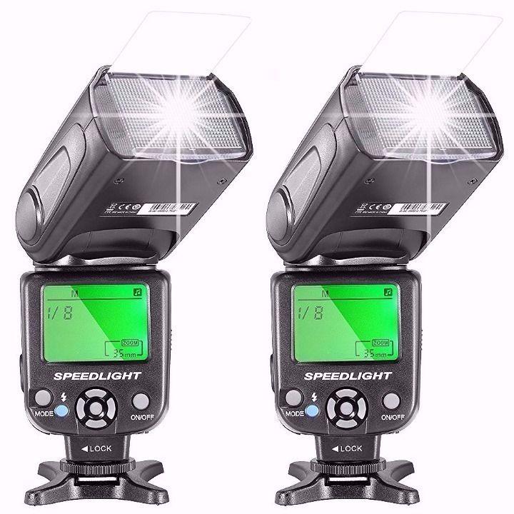 メルカリ商品: 【未開封品】デジタル一眼レフカメラ用フラッシュライト 2個セット #メルカリ
