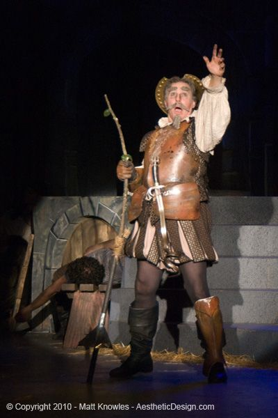 Man of La Mancha production shot.