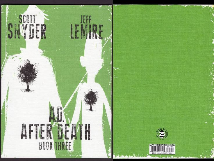 AD AFTER DEATH BOOK 3 (OF 3) Image Comics 2016 Lemire Snyder 1st Print NM+
