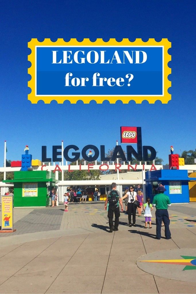 How to get into Legoland for Free with One simple tip!