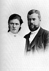 Max Weber - Max Weber and his wife Marianne in 1894