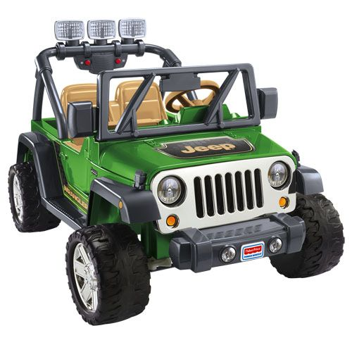 Power Wheels® Deluxe Jeep® Wrangler - Shop Power Wheels Ride On Cars & Trucks   Fisher-Price