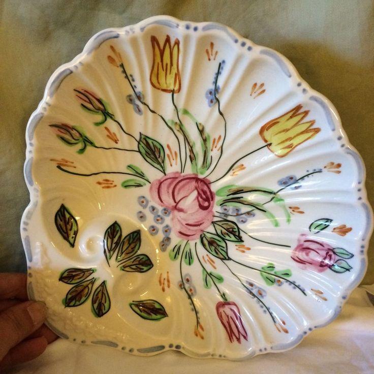 Photos At Garden Ridge Pottery: Vintage Blue Ridge China Southern Pottery Ridged Shell