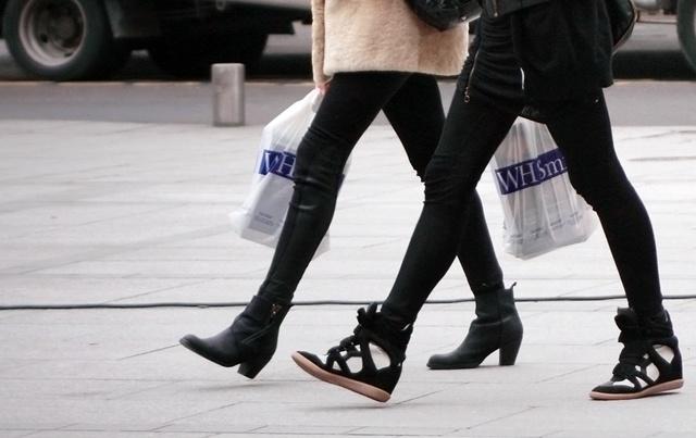 isabelmarant sneakersHidden Wedges, Marant Sneakers, High Tops, Style Inspiration, Street Style, Sneakers Fashion, Fashion Inspiration, Isabel Marant, Marant Hidden