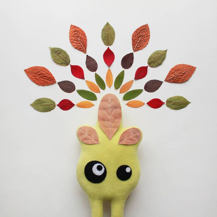 Autumn mandala 🍂    #autumn #leaves #mandala #fitimonsters #handmade #characterdesign #monsters #creature #plushie #softie #softsculpture #arttoy #artdoll #designertoy