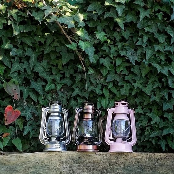 Handpainted LED Lantern, Party Light, Camp Light, Battery Powered Lantern, LED Light, Night Light, Nursery, Teepee Light