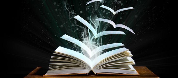 bladzijden boek vliegen weg alsof het vogels zijn