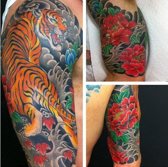 Chris Nunez Japanese Tattoos