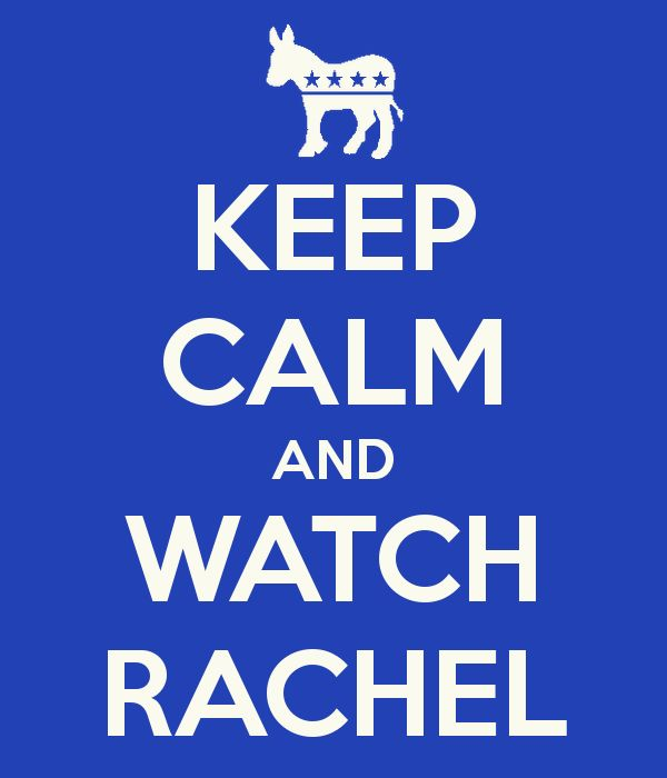 All hail the great Rachel Maddow!