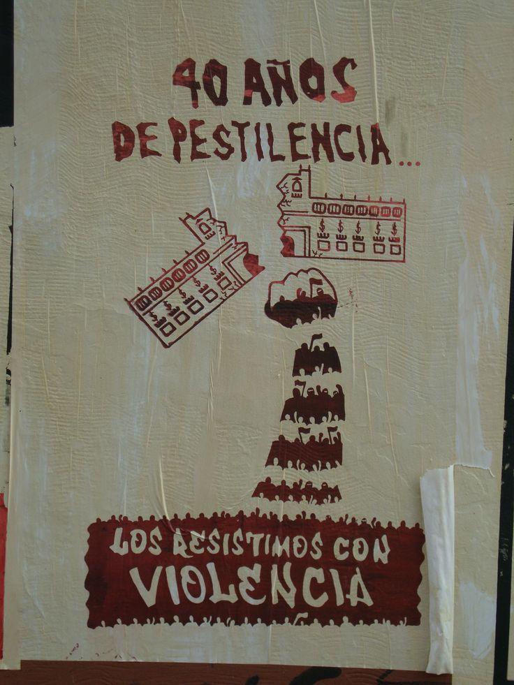 40 años de pestilencia. Santiago de Chile, Romería al Cementerio General, 8 de sept. de 2013. A 40 años del golpe.