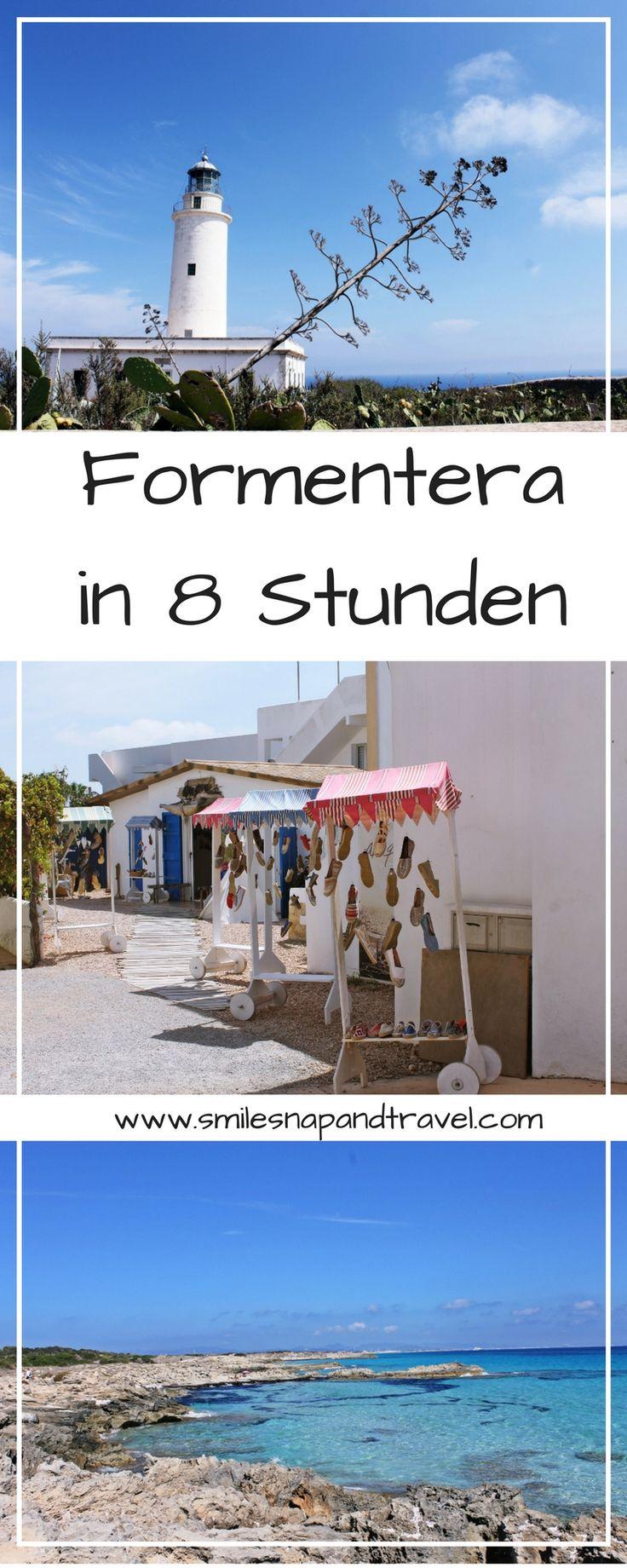 Besichtige Formentera, die kleine Schwester von Ibiza, in 8 Stunden: shoppen, baden und die Sonne geniesen. #ibiza #strrand #shopping