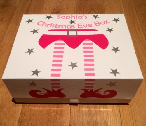 What a funky Christmas Eve box! You could get one of our popular wooden boxes and decorate it beautifully for your little one. More DIY inspiration available at www.craftmill.co.uk