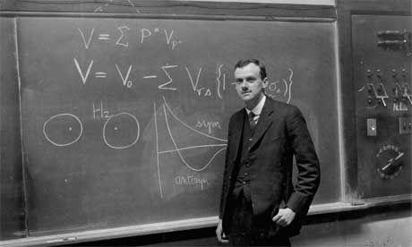 Paul Dirac, one of the pioneers of quantum physics.
