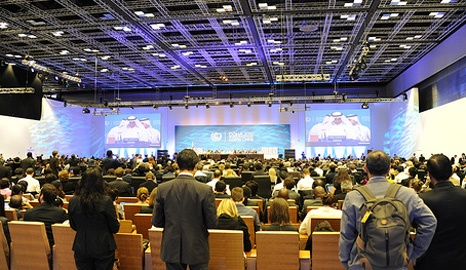 Measuring and reporting success of COP18 talks in Doha. Without an effective MRV system it is hard to accurately track delivery on climate finance and emission reduction pledges around the world (Pic: UNFCCC)
