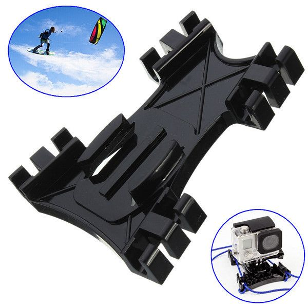 Kiteboard Surfing Kite Line Mount Holder Accessory For Gopro 2 3 3 Plus 4 Xiaomi Yi Sjcam. Kiteboard Surfing Kite Line Mount Holder Accessory For Gopro Hero 2 3 3 Plus 4 Xiaomi Yi SJ4000 SJ5000 SJcam  Features:  Universal sports camera surfing board / kite line mount, you can easily exercise your GoPro camera attached to a kite surfing online, record your moments, enjoy the passion for the sport Suitable for GoPro Hero 4 3  3 2 Xiaomi Yi SJ4000 SJ5000 SJcam Max. Load: 1000g Size: Approx…