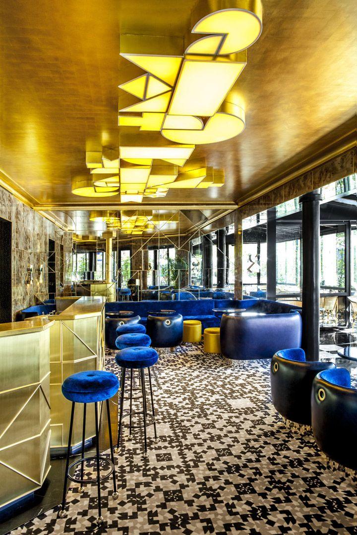 15 must see restaurant lighting pins restaurant design for Design couchtisch fabric