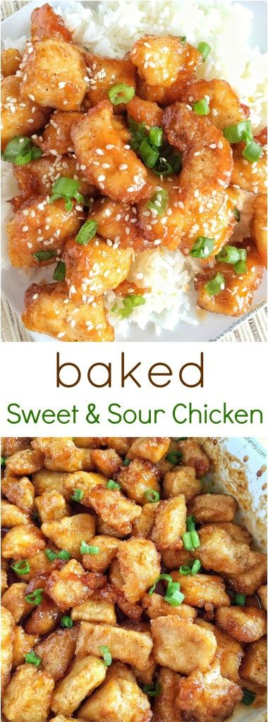 Baked Sweet & Sour Chicken - Together as Family
