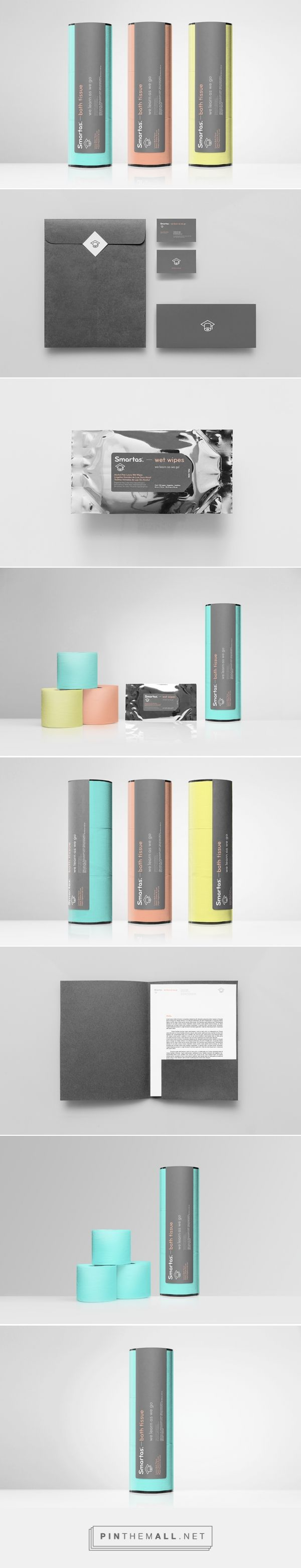 Smartas | Anagrama curated by Packaging Diva PD. Start Friday off with a packaging smile : ) created via http://anagrama.com/portafolio/129-smartas