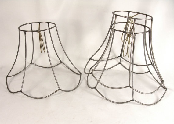 Victorian wire lampshade frames greentooth Choice Image