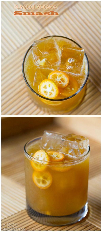 Kumquat Molasses Smash | Recipe | Cocktails, The o'jays ...