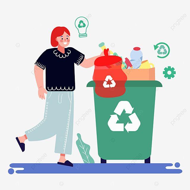 Desenho Animado Tirado Mao Da Ilustracao De Saco Plastico De Classificacao De Lixo Saco De Plastico Lixeira Garrafa Imagem Png E Vetor Para Download Gratuito Desenho Animado Sacos Ilustracao