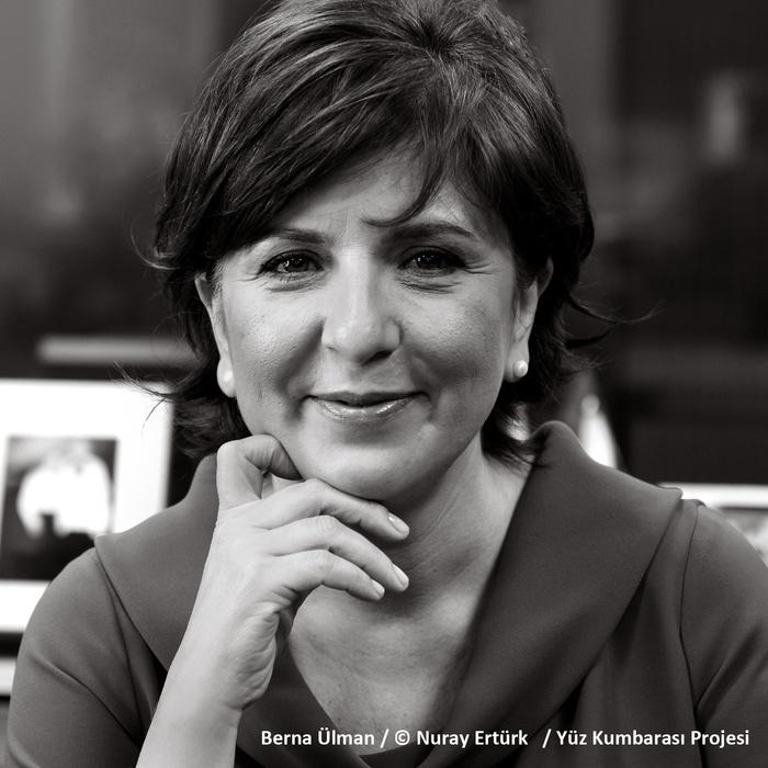 Berna Ülman / © Nuray Ertürk / Yüz Kumbarası Projesi