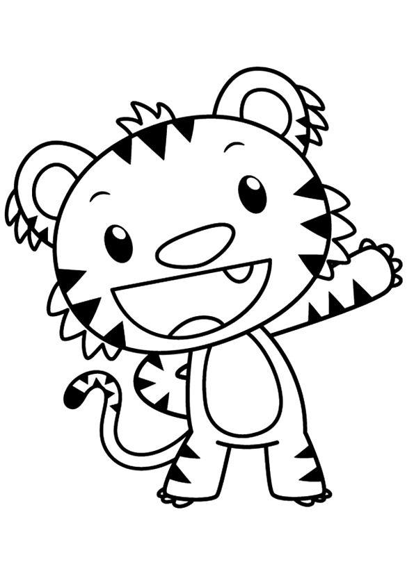 Top 10 Kai Lan Coloring Pages For Toddlers | Kai lan ...