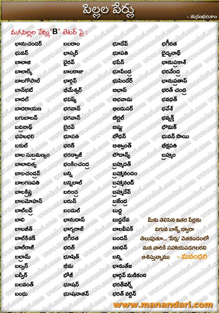 Telugu Baby Names » Boy Names » Begins with Ki
