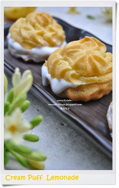 KRISTA MOCAF KITCHEN: Cream Puff Lemonade
