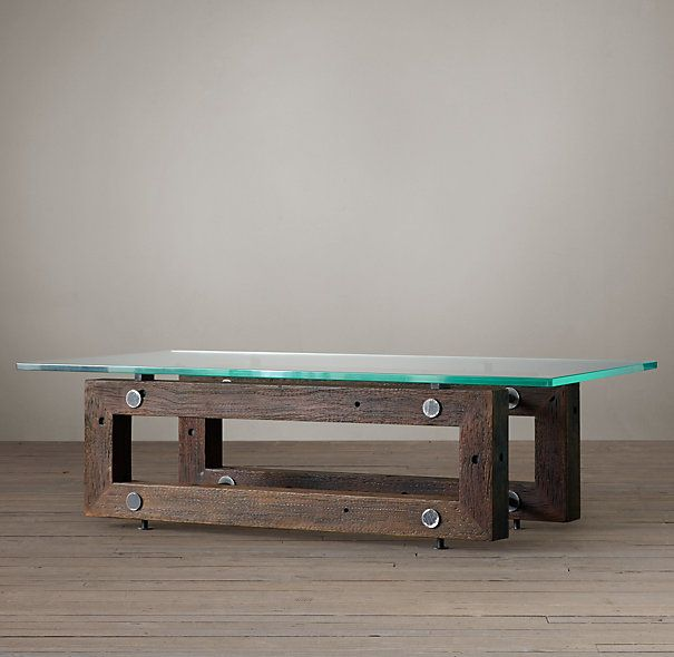 Reclaimed Brazilian Wood Coffee Table For The Home Furniture Dining