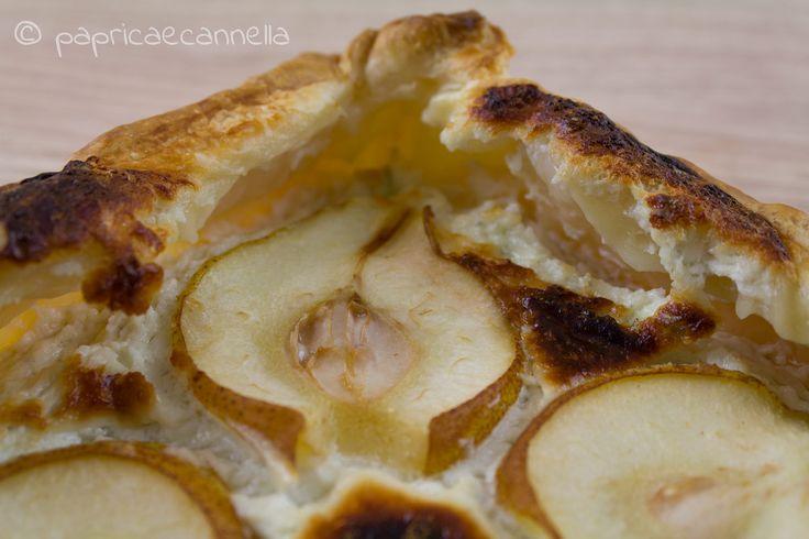 crostata di pere e gorgonzola