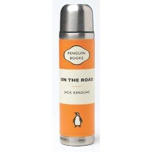 On the Road Penguin Vacuum Flask, Orange