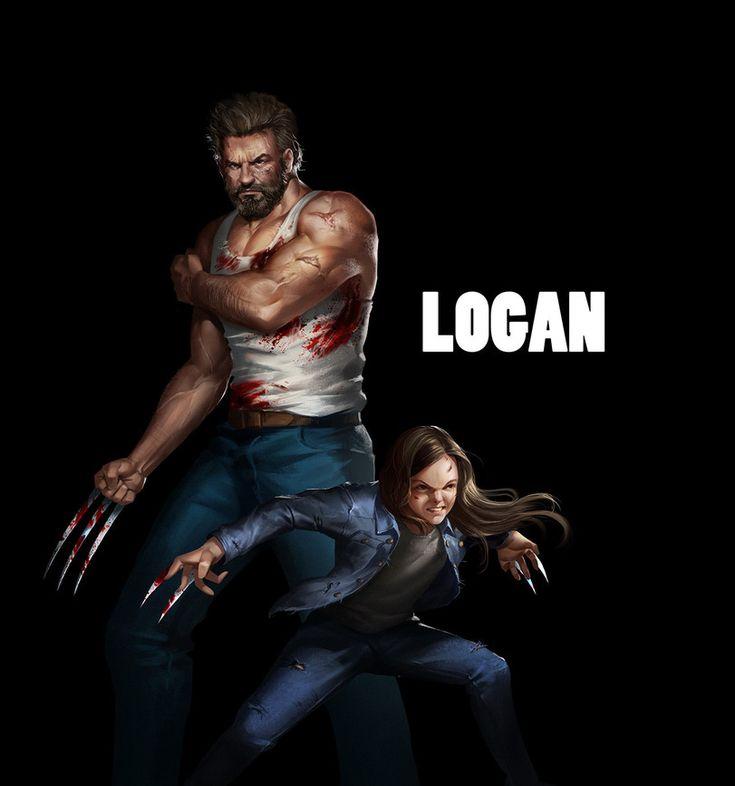 Marvel,Вселенная Марвел,фэндомы,Logan,Логан,X-Men Movie Universe,Вселенная фильмов о Людях-Икс,Wolverine,Росомаха, Логан, Джеймс Хоулетт,X-23,Икс-23, Росомаха, Лаура Кинни,X-Men,Люди-Икс,zhongyang han