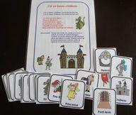 Les châteaux : accessoires pour activités préscolaires - Les éditions Boîte à Surprises