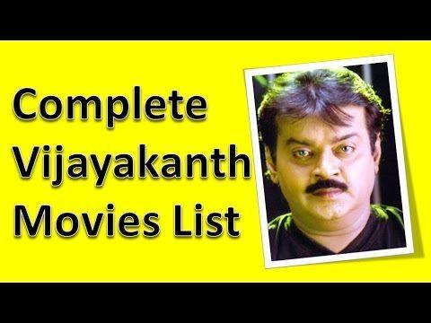 Vijayakanth Hits and Flops 100 Days Movies List