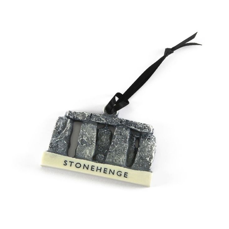 Celebrate the magical beauty of Stonehenge with this striking and original decoration. Made exclusively for English Heritage to commemorate the majestic ancient stones in Wiltshire, it is a lovely souvenir gift that you can bring out and enjoy year after year. It looks fantastic hung on your Christmas tree or displayed as part of your Christmas decorations around the home.
