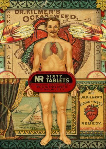 Dr. Kilmer's Ocean-Weed Heart Remedy