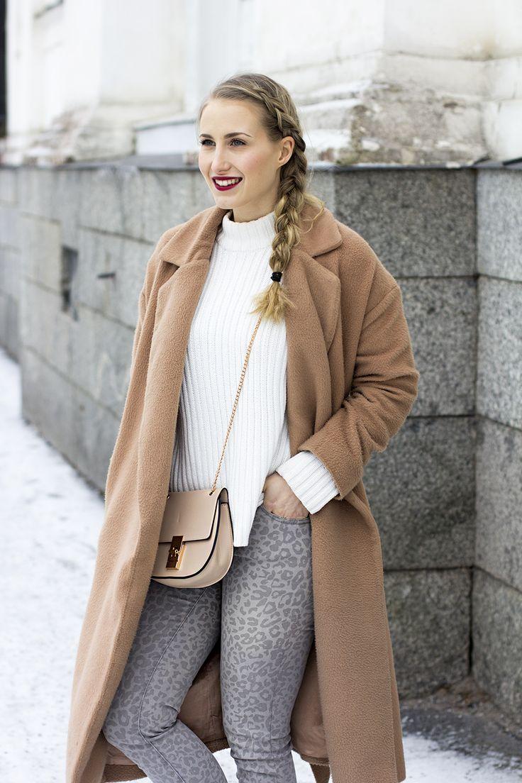 sandraemilia, outfit, braid, leopard, beige, coat 2